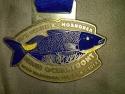 Maui Oceanfront Half Marathon Medal 2011