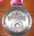 Wahine Diva's Half Marathon Medal 2011