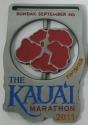 Kaua'i Half Marathon Medal 2011