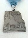 Coeur D'Alene Half Marathon Medal 2012