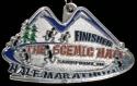 The Scenic Half Marathon Medal 2010