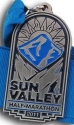 Sun Valley Half Marathon Medal 2011