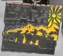 Teton Dam Half Marathon Medal 2010