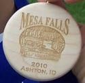 Mesa Falls Half Marathon Medal 2010