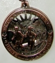 Pocatello Half Marathon Medal 2011