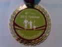 Fitness of America Half Marathon Medal 2010