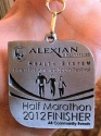 Fitness of America Half Marathon Medal 2012
