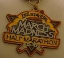 March Madness Half Marathon Medal 2011