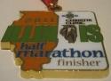 Illinois Half Marathon Medal 2011