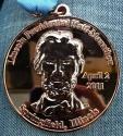 Lincoln Memorial Half Marathon Medal 2011