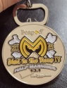 Half Madness - Mad to the Bone - Half Marathon Medal 2011
