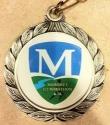 Mahomet Half Marathon Medal 2011