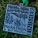 Prairie State Half Marathon Medal 2010