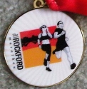 Rockford Half Marathon Medal 2011