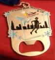F^3 Lake Half Marathon Medal 2012