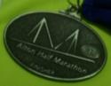 Alton Half Marathon Medal 2011