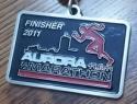 Aurora Half Marathon Medal 2011