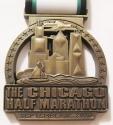 Chicago Half Marathon Medal 2010