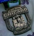 Chicago Half Marathon Medal 2011