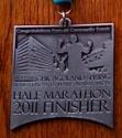 Chicagoland Spring Half Marathon Medal 2011