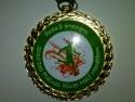 Des Plaines River Half Marathon Medal 2010