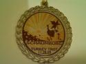 Schaumburg Turkey Trot Half Marathon Medal 2009