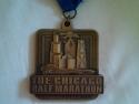 Chicago Half Marathon Medal 2009