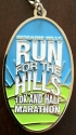 Moraine Run For the Hills Half Marathon Medal 2012