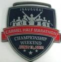 Carmel Half Marathon Medal 2011