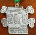 Dances with Dirt Half Marathon Medal 2012