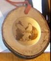Eagle Creek Trail Half Marathon Medal 2011