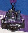 Evansville Half Marathon Medal 2011