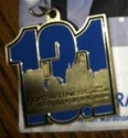 Fort 4 Fitness Half Marathon Medal 2011