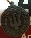 Indiana University Mini Marathon Medal 2011