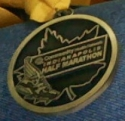 Indianapolis Half Marathon Medal 2011