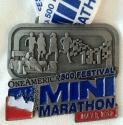 Indianapolis Mini Marathon Medal 2012
