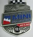 Indianapolis Mini Marathon Medal 2011