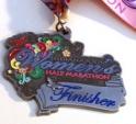 Indy Women's Half Marathon Medal 2011