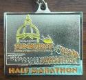 Sunburst Half Marathon Medal 2011