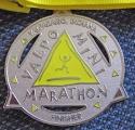 Valpo Half Marathon Medal 2007