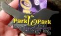 Park to Park Half Marathon Medal 2011