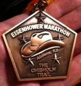 Eisenhower Half Marathon Medal 2011