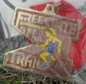 Free State Trail Half Marathon Medal 2011
