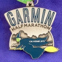Garmin Oz Half Marathon Medal 2012