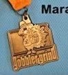 Gobbler Grind Half Marathon Medal 2009