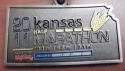 Kansas Half Marathon Medal 2011