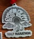 Pilgrim Pacer Half Marathon Medal 2011