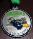 Wickedly Fast Oz Half Marathon Medal 2011