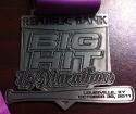 Big Hit Half Marathon Medal 2011