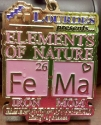 Elements of Nature (Iron Mom) Half Marathon Medal 2011